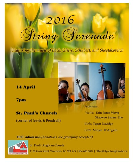 String Serenade @ St. Paul's
