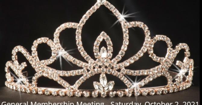 General Membership Meeting - October 2, 2021