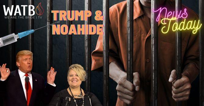 NEWS TODAY w/Dr. June Knight  Trump & Noah*de Laws, Biden Mandates, Mass Prison Break & More image