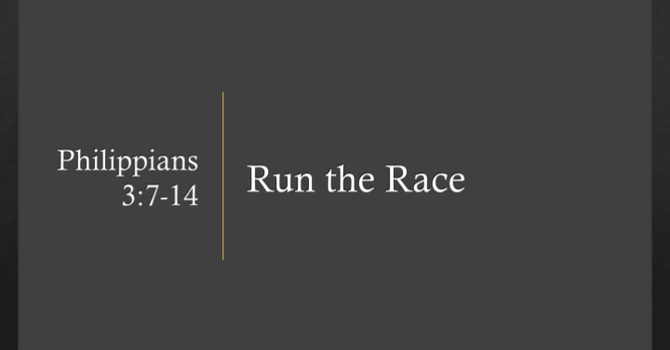 Father's Day - Run the Race