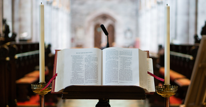 Walking the transept again: Pastor's ponderings