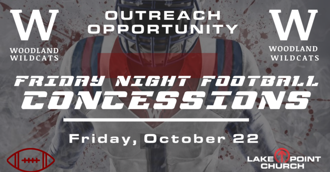 Friday Night Football Concessions