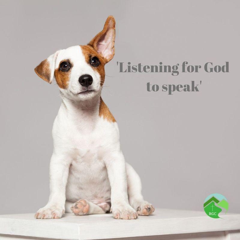 'Listening for God to speak'