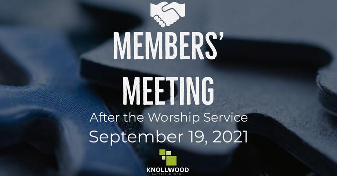 Members' Meeting image