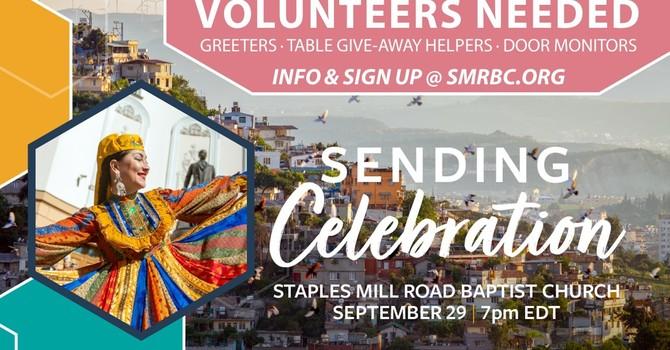 Help with IMB Sending Celebration