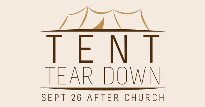 Tent Tear Down
