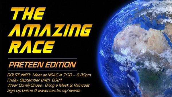 Preteen Amazing Race 2021!