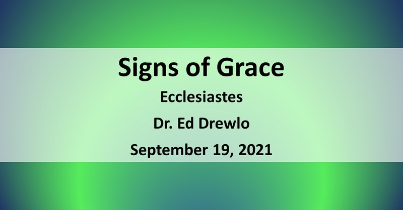 Signs of Grace