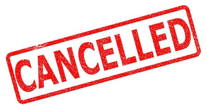 Friday Morning Cross Country Practice Cancelled image