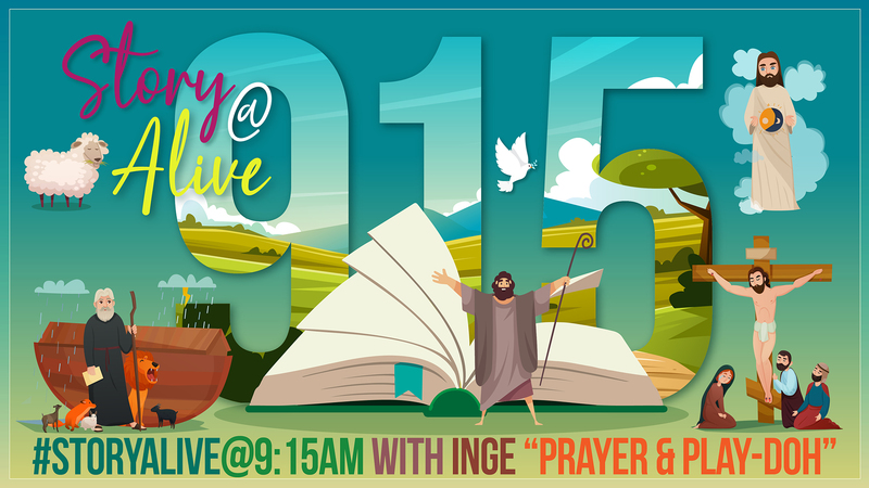 Story Alive @ 9:15am with Inge