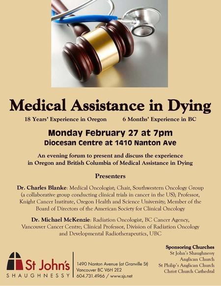 Medical Assistance in Dying Forum