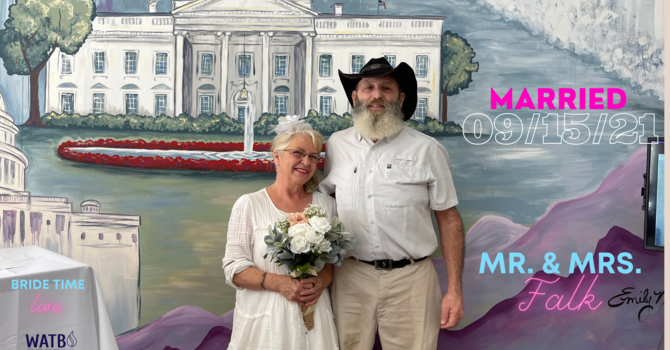 Bride Time LIVE - Dr June Knight Interview with Newlyweds David & Lynn Falk image