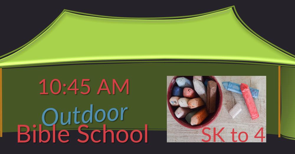 Outdoor Bible School