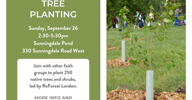 Interfaith Tree Planting