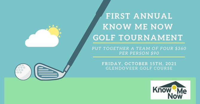 First Annual Know Me Now Golf Tournament