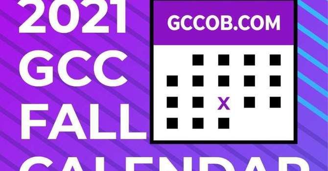 GCC FALL CALENDAR