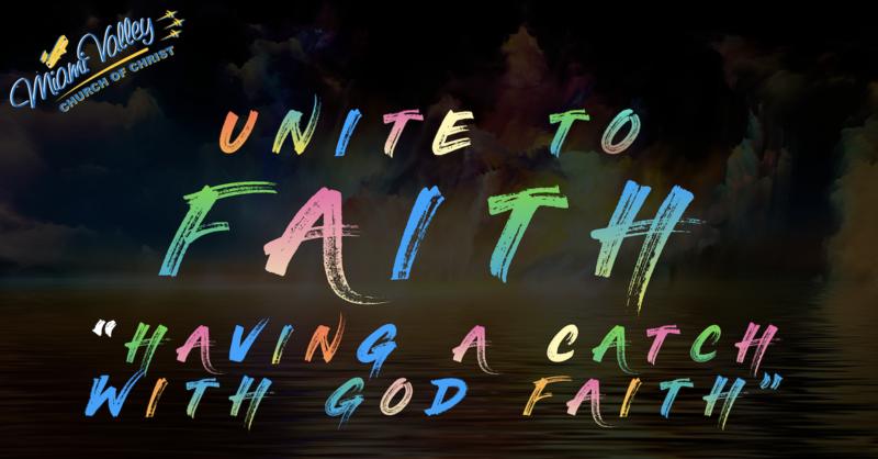 """""""Having A Catch With God Faith"""""""