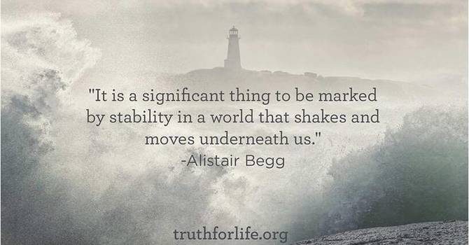 Finding Stability