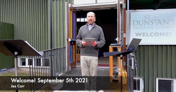 Service for September 12th 2021