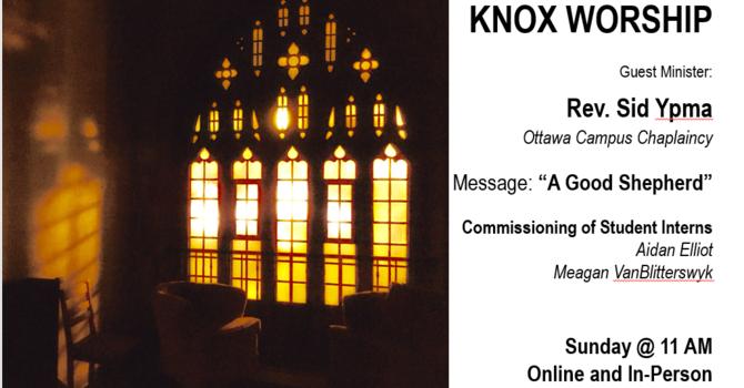 Sunday Worship @ Knox