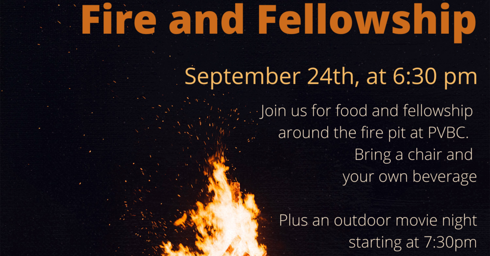 Fire and Fellowship