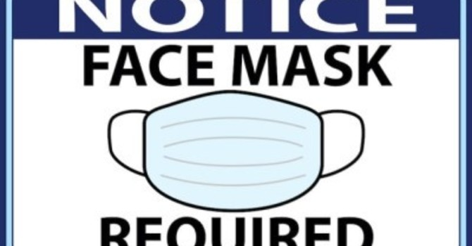 Face Masks Required image