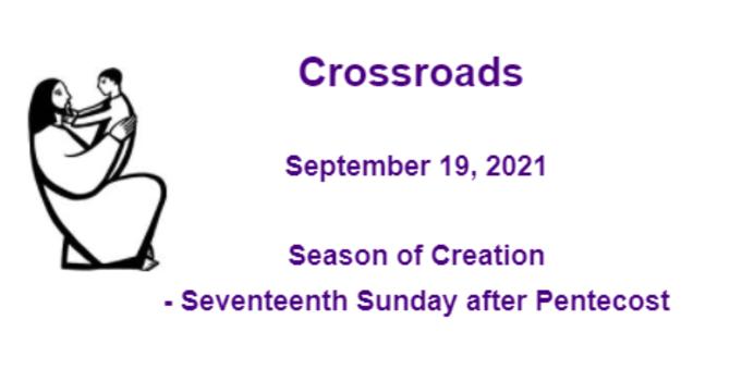 Crossroads September 19, 2021