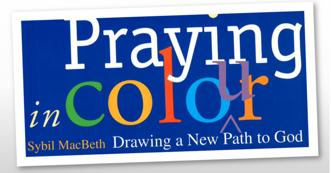 Praying in Colour  ONLINE Sunday Sept 19 11:30am-12:30pm image