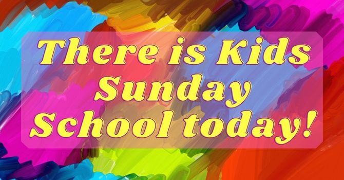 Kids Sunday School! image