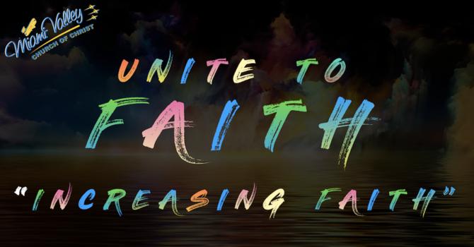 """Increasing Faith"""