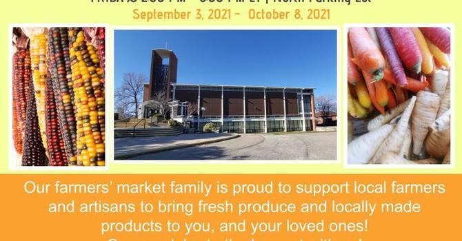 St. Andrew's Harvest Pop-Up Farmers' Market