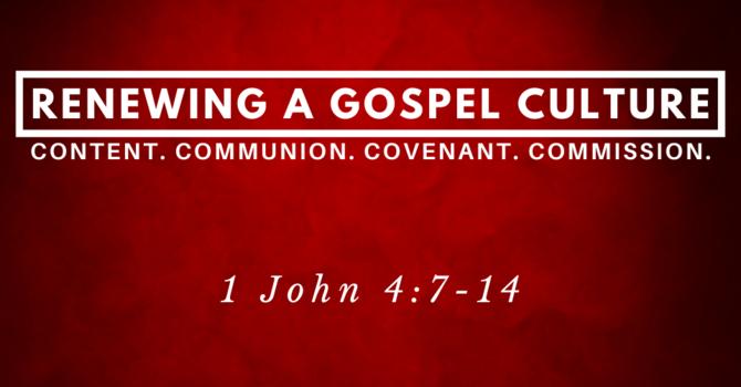 Renewing a GOSPEL CULTURE
