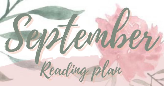 September Writing Plan