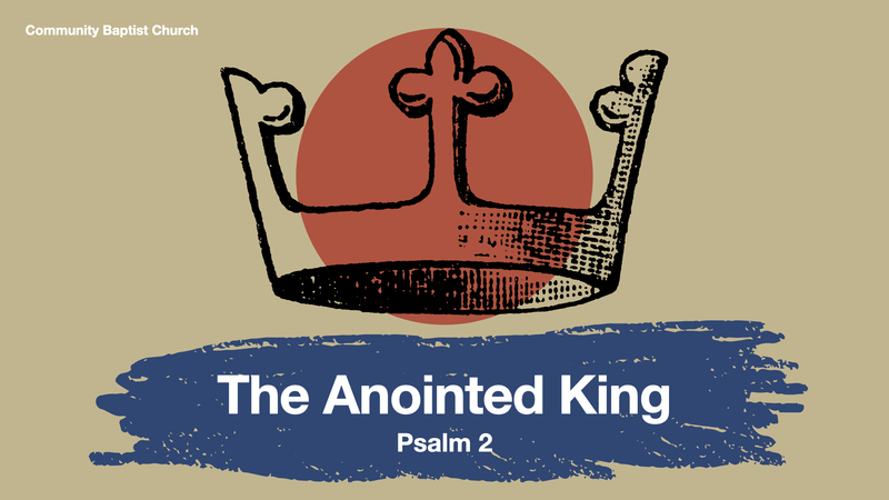 The Anointed King
