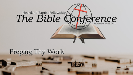 2021 The Bible Conference