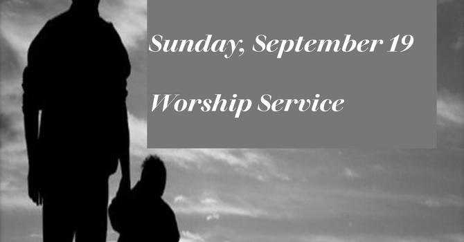 Sunday, September 19 Worship Service image