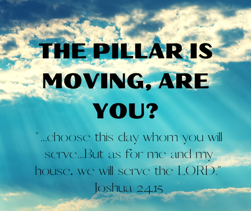 The Pillar is Moving, part 2