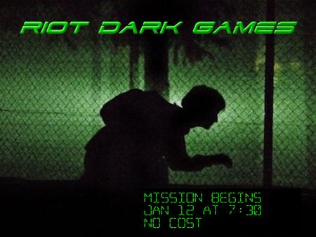 RIOT 2018 Dark Games - NO COST
