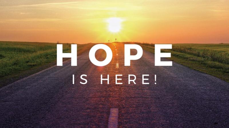 Hope Is Here Week #2 - Hope For The Broken
