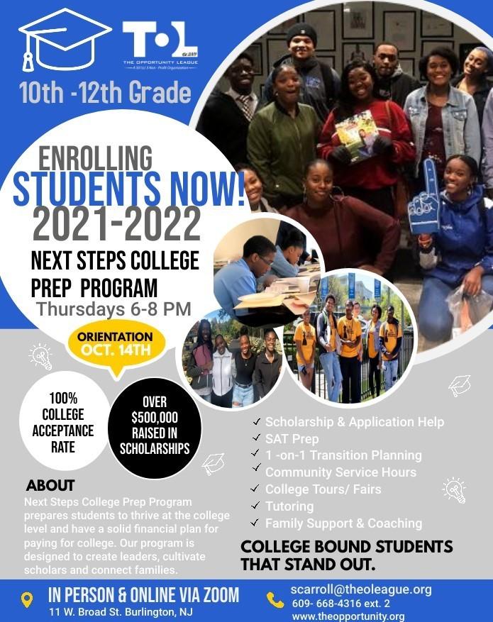 SAFE College Prep Flyer