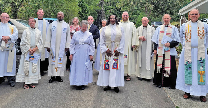 Celebrations of a New Ministry: Holy Spirit, Whonnock and St. Oswald's, Port Kells image