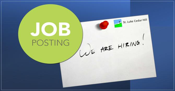 Job Posting: parish administrator image