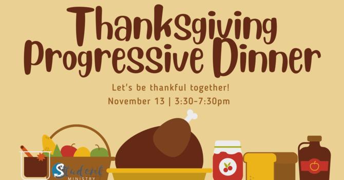 Thanksgiving Progressive Dinner