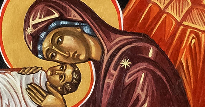 St. Mary is still giving birth