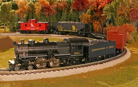 Train sets and nuclear fusion