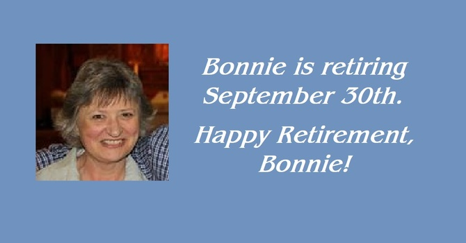 Retirement of Bonnie Watkins image
