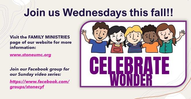 Celebrate Wonder Wednesdays!