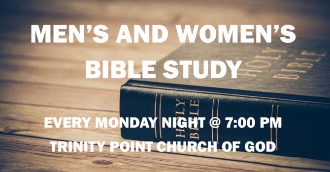 Men's & Women's Monday Night Bible Study