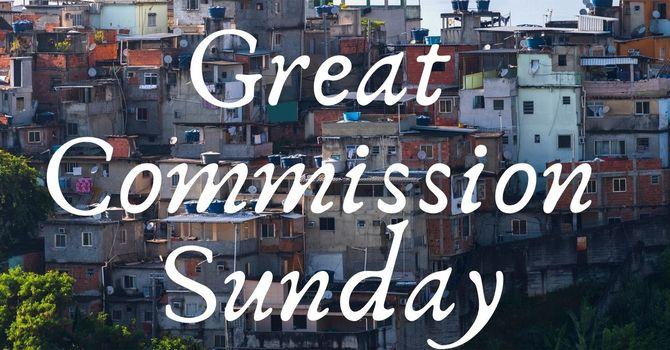 Great Commission Sunday image