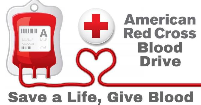American Red Cross Blood Drive:  Tuesday, October 19th, 1PM-6:30PM image